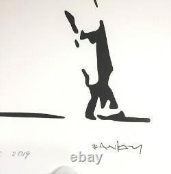 BANKSY LIMITED EDITION #1 of 50 Flower Thrower