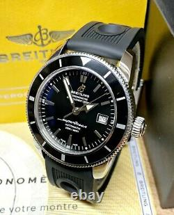 Breitling Superocean Heritage 42mm A17321 2014 Black Dial With Papers SERVICED