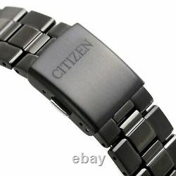CITIZEN Collection BV1124-90L Eco-Drive Black Dial Japan Made Men Watch WARRANTY