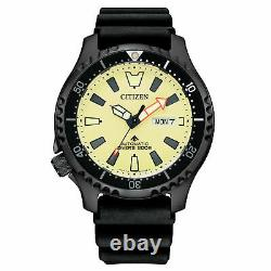 CITIZEN PROMASTER NY0138-14X Automatic Fugo Left Crown Watch Limited 1989 pcs