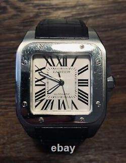 Cartier Santos 100 XL with Box And Papers Limited Edition 1904-2004- RRP £6700