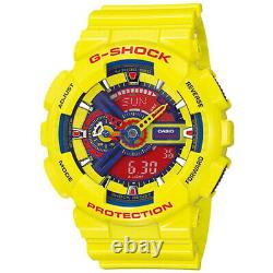 Casio G-Shock Hyper Colors Limited Edition Yellow Watch GShock GA-110A-9