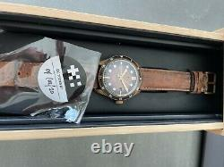 Christopher Ward c65 trident Bronze COSC Ombre 42mm Limited Edition
