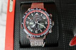 Citizen JY8079-76E Limited Edition Red Arrows Promaster Watch & Model Plane Set