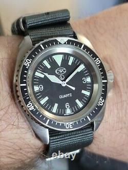 Cwc Royal Navy Divers Watch Mk1 Box Papers