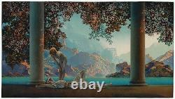 Daybreak by Maxfield Parrish reproduction large