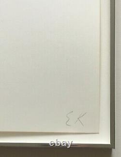Ellsworth Kelly Signed Numbered Iconic 1973 Screenprint Limited Edition Framed