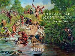 Ensign Downing's Escape, The Battle of Wyoming, July 3, 1778 Don Troiani Print