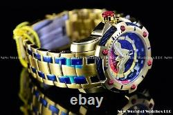 Invicta 39mm Limited Edition DC Comics WONDER WOMAN Bolt 18k Gold Plated Watch