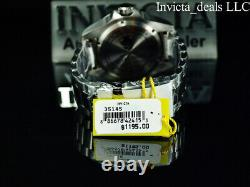 Invicta 52mm SKULL HYDROMAX OCEAN VOYAGE Blue Dial Limited Edition 1000m Watch