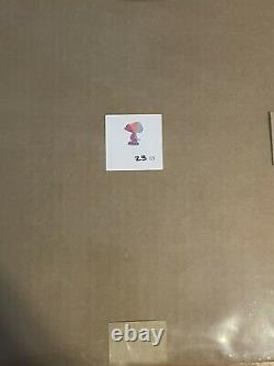 Kaws Snoopy Signed Art And Limited Edition 23/25 Print Brooklyn Museum