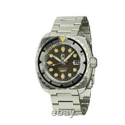 NEW Esoteric Bathyal Gris By Ocean Crawler Grey Dial Auto Sapphire 600M SS Diver
