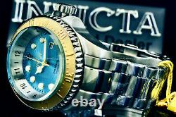 NEW Invicta Hydromax 52MM OCEAN VOYAGE LIMITED EDITION Wavy Blue Dial S. S Watch