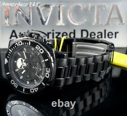 NEW Invicta Men 48mm Chronograph MARVEL PUNISHER Stainless Steel LE Combat Watch