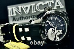 NEW Invicta Men's MARVEL PUNISHER Pro Diver Scuba LIMITED EDITION SS Strap Watch
