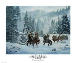 Nathan Bedford Forrest Don Stivers Commemorative Edition Giclee Print