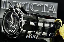 New Invicta MARVEL Pro Diver 48MM BLACK PANTHER LIMITED EDITION Chrono S. S Watch