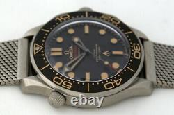Omega Seamaster James Bond No Time To Die Limited Edition Co-Axial Watch