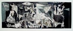 Pablo Picasso GUERNICA Estate Signed Limited Edition Giclee Art