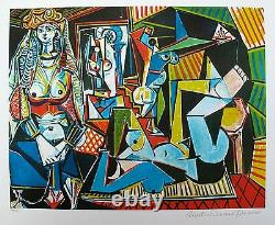Pablo Picasso WOMEN OF ALGIERS Estate Signed Limited Edition Giclee 20 x 26