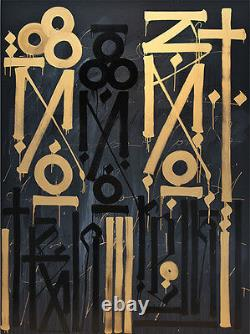 RETNA Eastern Realm GOLD! Signed & Numbered! Ed of 60 MINT RARE