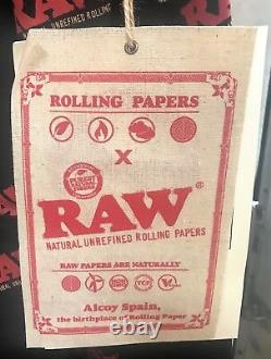 Raw Large One Piece Jump Suit Raw Rolling Paper LIMITED EDITION With Free Shipping
