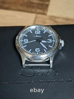 Sinn 556A Automatic Date Black Dial 38.5mm Stainless Steel Mens Watch 200m