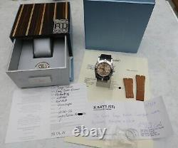 XL ROGER DUBUIS SE46 EASY DIVER CHRONO LIMITED EDITION MEN'S WATCH, box, papers