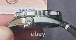 ZELOS Horizons GMT V1 Meteorite Dial, SS 39mm Automatic Watch Limited Edition