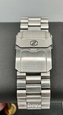 Zelos Hammerhead 2 1000m Diver Automatic Limited Edition Teal Gradient Dial